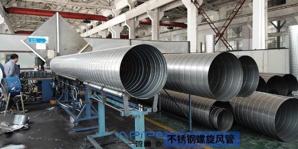 不锈钢螺旋风管的噪音降低技巧