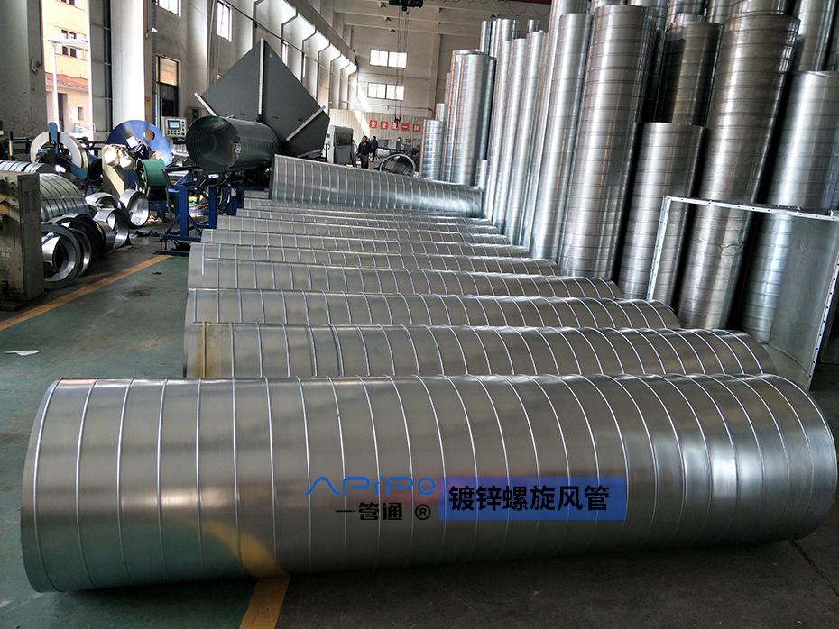 一管通通风管道制造公司:浅谈不锈钢风管的噪音和漏水问题