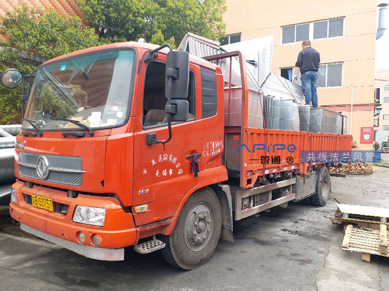 江阴环保设备配套工程第22批-共板法兰风管篇