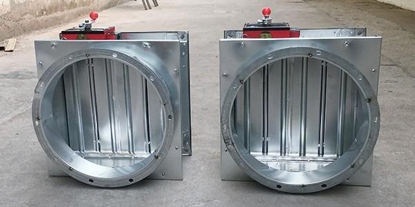 70度防火阀和280度防火阀的应用不同之处