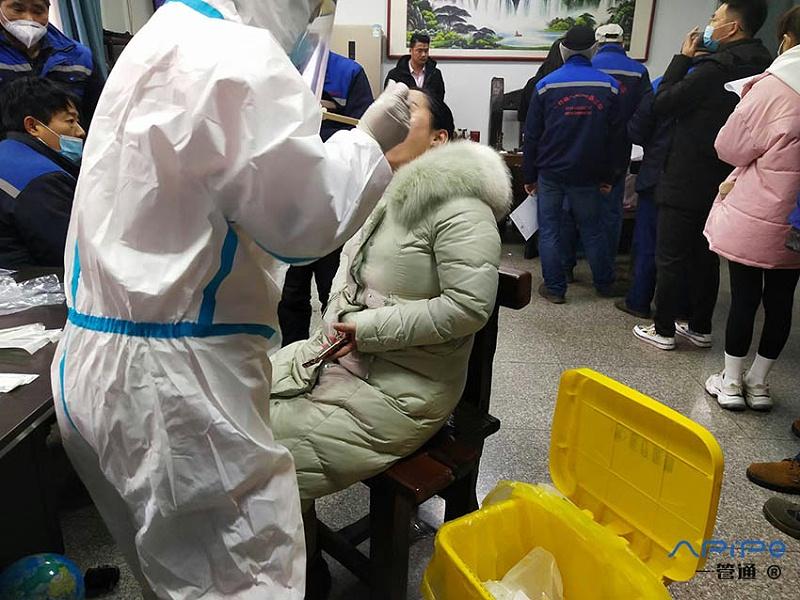 德尔塔病毒袭来,一管通风管公司始终把安全防护放在第一位