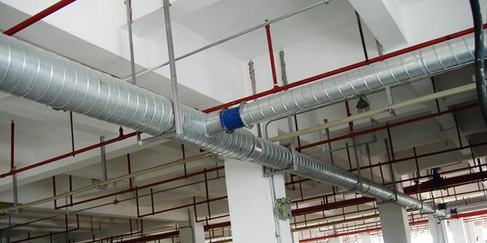 无锡通风管道如何施工的?