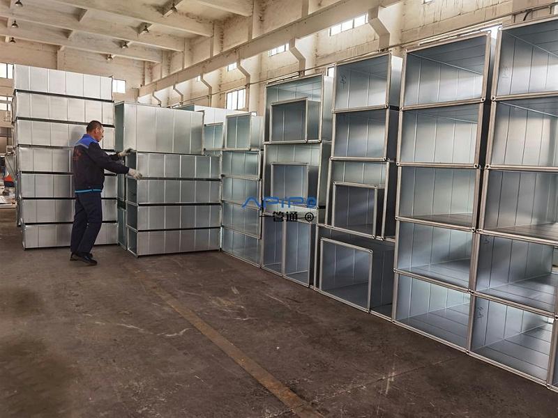 一管通镀锌通风管道加工制作中,出口南美 多米尼加
