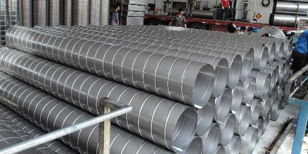 螺旋风管安装时与别的风管比较有那些优势