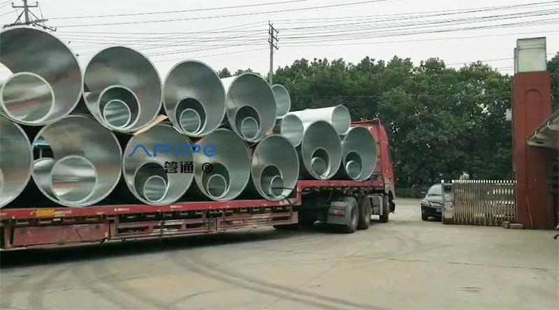 2020年【一管通】通风管道第一辆17.5米的货